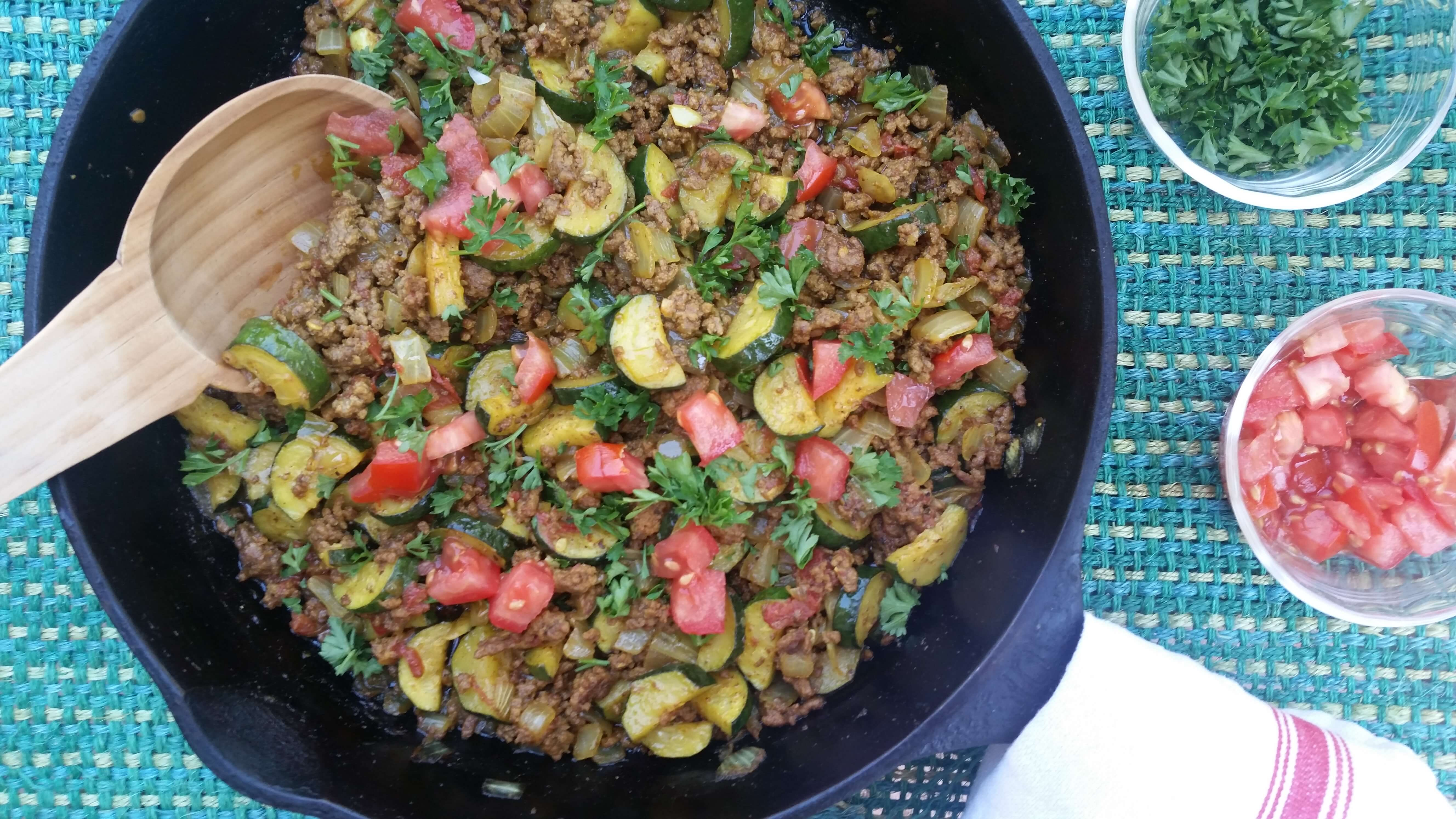 One Skillet Simple Ground Beef Recipe A Good Carrot